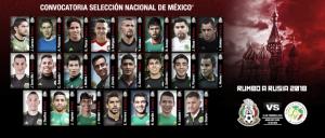 Convocatoria de la Selección Mexicana contra Senegal