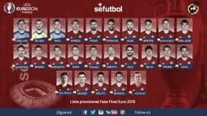 Saúl y Lucas Vázquez, las principales novedades en la lista de España