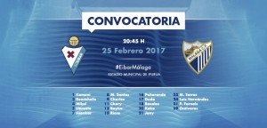 El Málaga viaja a Ipurua con una convocatoria condicionada por las bajas