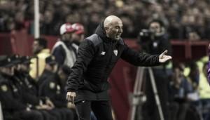 """Sampaoli: """"Creímos en todo momento, el equipo hizo méritos para la victoria"""""""