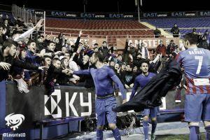 El Levante se despide de la Copa con victoria en el Ciutat