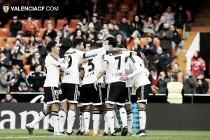 El Valencia acaricia los cuartos de Copa