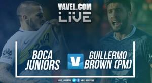 Resumen y gol Boca Juniors vs Brown de Puerto Madryn por Copa Argentina 2017 (1-0)