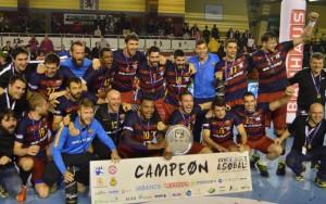 Quinta Copa ASOBAL consecutiva para el FC Barcelona Lassa