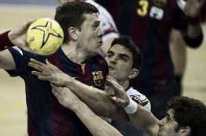 El Barcelona deja casi sentenciada laeliminatoria ante el Naturhouse