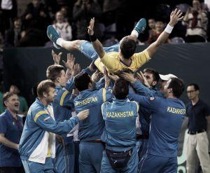 Nedovyesov da el triunfo a Kazajstán