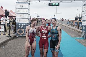 Nicole Spirig ganó la Copa Mundo de Triatlón en Cartagena