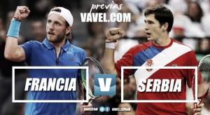 Copa Davis 2017. Previa Francia - Serbia: los galos, favoritos para la final