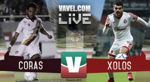 Resultado Coras de Tepic - Xolos de Tijuana en Copa MX Clausura 2016 (2-0)