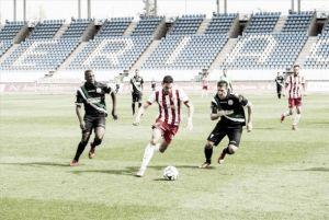 Estadísticas del Almería B durante la temporada 2014/2015
