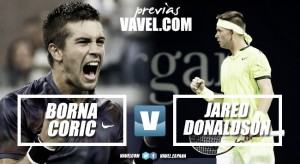 Previa Borna Coric - Jared Donaldson: importante partido para pasar de ronda