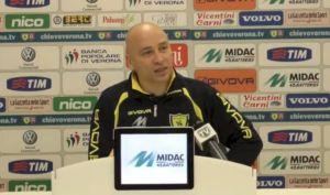 """Chievo, Corini soddisfatto: """"Una vittoria fondamentale"""""""