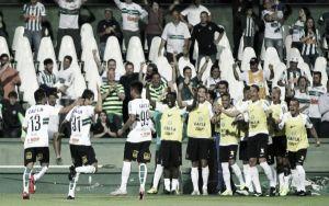 Coritiba sai da lanterna após vencer Palmeiras e reencontra caminho das vitórias