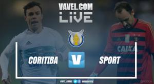 Resultado Coritiba x Sport pelo Campeonato Brasileiro 2017 (0-3)