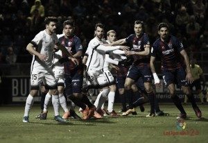 SD Huesca - Sporting de Gijón: puntuaciones del Sporting de Gijón, partido trigésimo primero de LaLiga 1 2 3.
