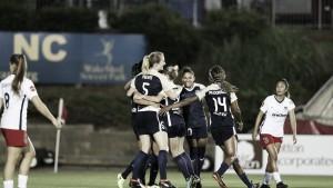 North Carolina Courage win 1-0 over the Washington Spirit to remain unbeaten