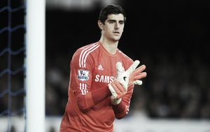 Thibaut Courtois: Highly unlikely to play against Swansea City