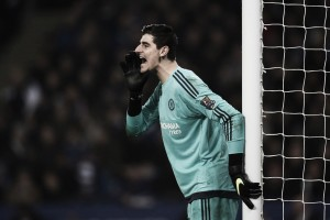 Chelsea must reach a cup final to save season, says Courtois