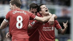 QPR 2-3 Liverpool: Late drama ensures Liverpool take all three points