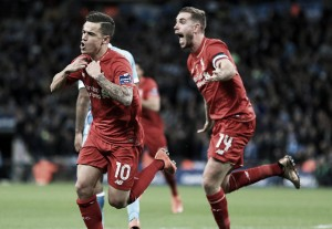 Liverpool's Coutinho can be in the same bracket as Messi and Suarez, declares Jordan Henderson