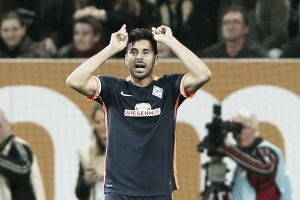 Veteran Pizarro pleased with Bremen's win in Bavaria