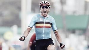 Henao perdió el sueño olímpico sobre el final y Van Avermaet ganó el oro
