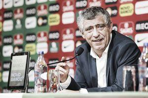 """Fernando Santos: """"El nombre de Portugal está en juego"""""""