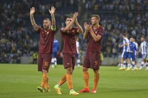 Porto domato, la Roma rischia ma si salva