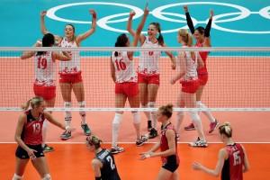 Rio 2016 Volley F - La Serbia batte gli Usa ed è la prima finalista