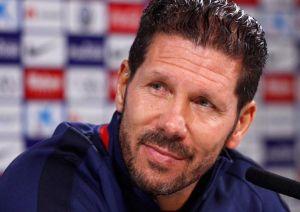 """Simeone: """"Estamos trabajando muy bien; el equipo suele terminar los partidos mejor que el rival"""""""
