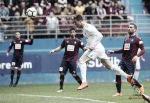 Liga - Il Real Madrid soffre, ma fa valere la legge di Ronaldo contro l'Eibar