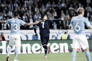 Malmo FF 0-2 Real Madrid: Ronaldo marks his 500th career goal with a brace in Sweden