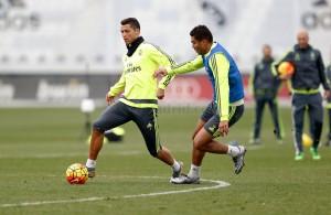 Cristiano Ronaldo vuelve al grupo