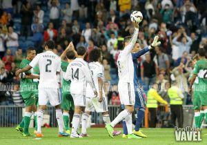 El Real Madrid parte y reparte