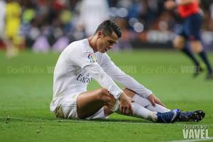 Cristiano Ronaldo sufre una rotura de fibras