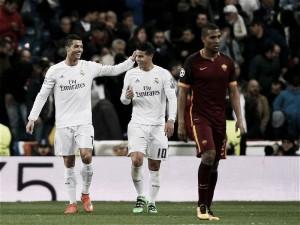 James Rodríguez anotó y el Real Madrid avanzó a cuartos en la Champions