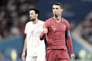"""Cristiano Ronaldo não se surpreende com hat-trick: """"Trabalho para isso"""""""