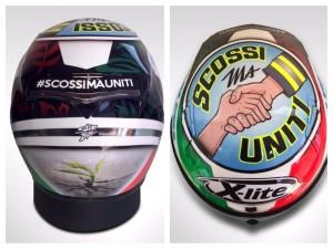 Misano: Danilo Petrucci, casco con dedica