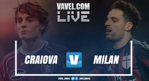 Jogo Craiova x Milan AO VIVO hoje pela eliminatória da Uefa Europa League 2017/18 (0-0)