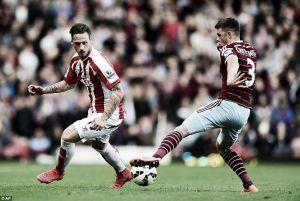 West Ham 1-1 Stoke City: Late Arnautovic goal keeps Stoke above Hammers