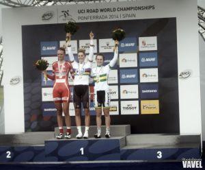 Fotos e imágenes de la CRI junior femenina del Mundial de ciclismo de Ponferrada 2014