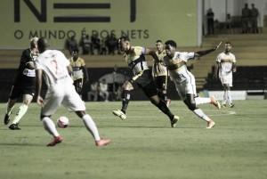 Criciúma sofre gol no final, empata com Brusque e continua próximo da zona de rebaixamento