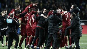 Dinamarca, Albania, Armenia y Serbia se cruzan con Portugal