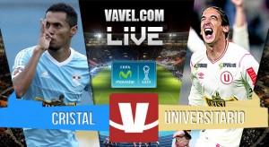 Resultado Sporting Cristal - Universitario en Torneo Clausura 2015 (1-2)
