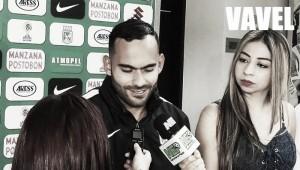 "Christian Vargas: ""Me da alegría pertenecer a Atlético Nacional"""