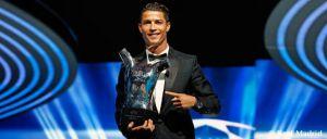 Cristiano Ronaldo se alza como mejor jugador de Europa
