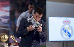 """Cristiano Ronaldo: """"Sin la ayuda y compromiso de todos, estas cifras no serían posibles"""""""