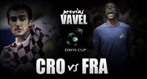 Copa Davis 2016. Croacia - Francia: alternativas para ambos