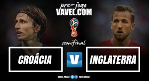 Croácia e Inglaterra enfrentam tabus por vaga na grande final do Mundial