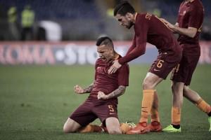 Serie A - Defrel fa paura alla Roma, Paredes, Salah e Dzeko ribaltano tutto: 3-1 al Sassuolo